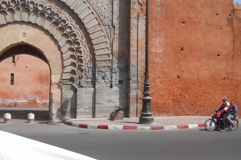 Motorbike, Marrakech, Morocco
