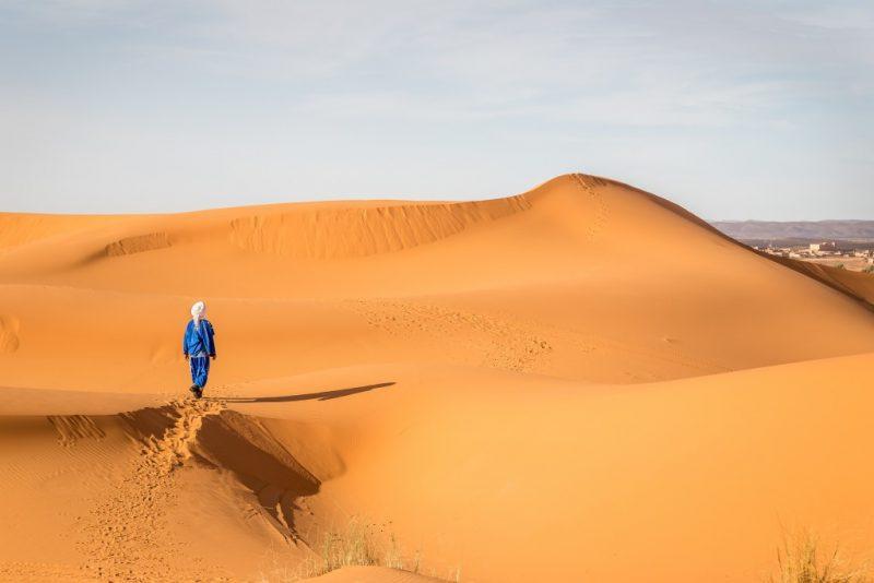 Erg Chebbi sand dunes morocco