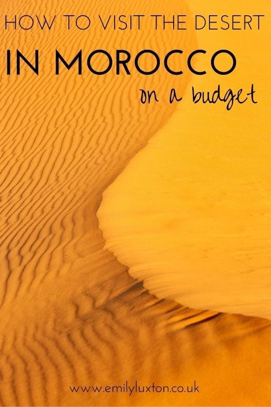 Morocco-Desert-Budget