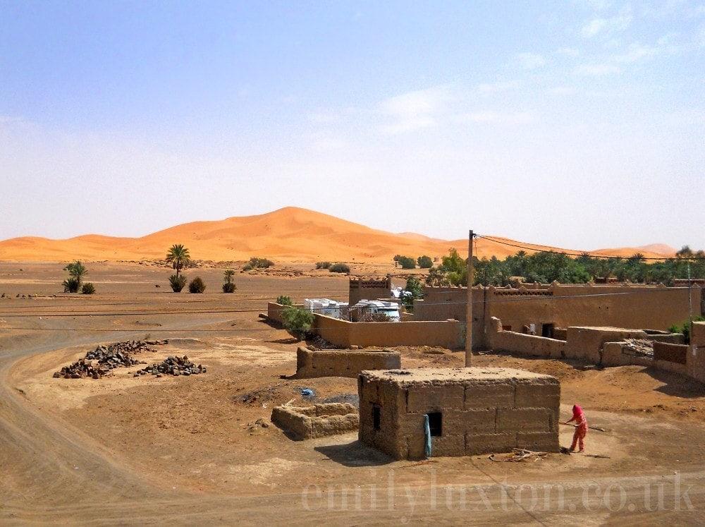 independent desert trip morocco