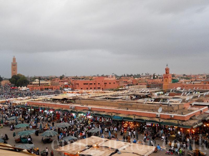 Djemma el Fna in Marrakech