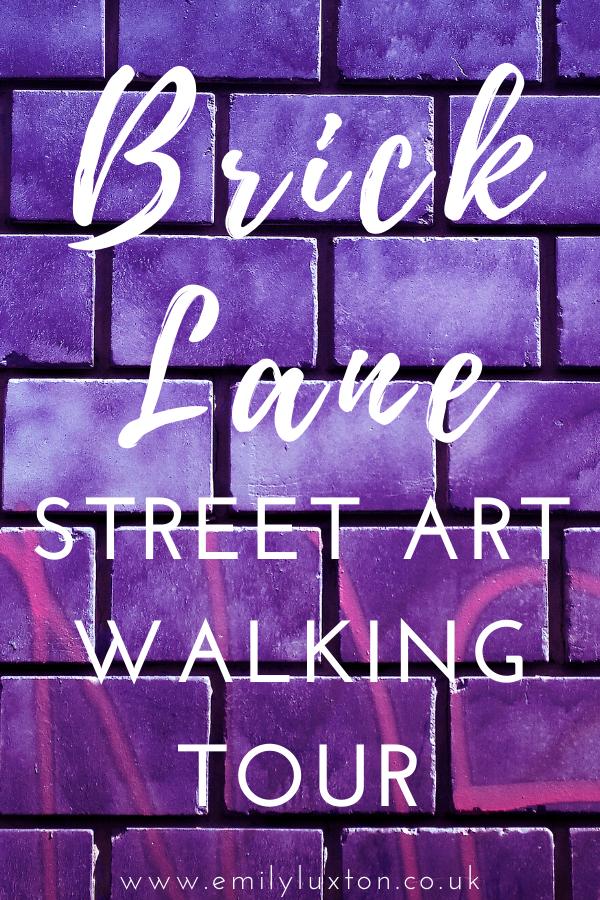 Brick Lane Street Art Walking Tour