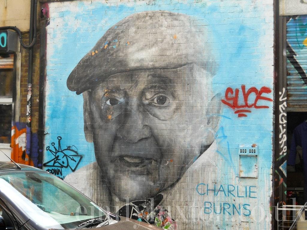 Charlie Burns portrait Brick Lane