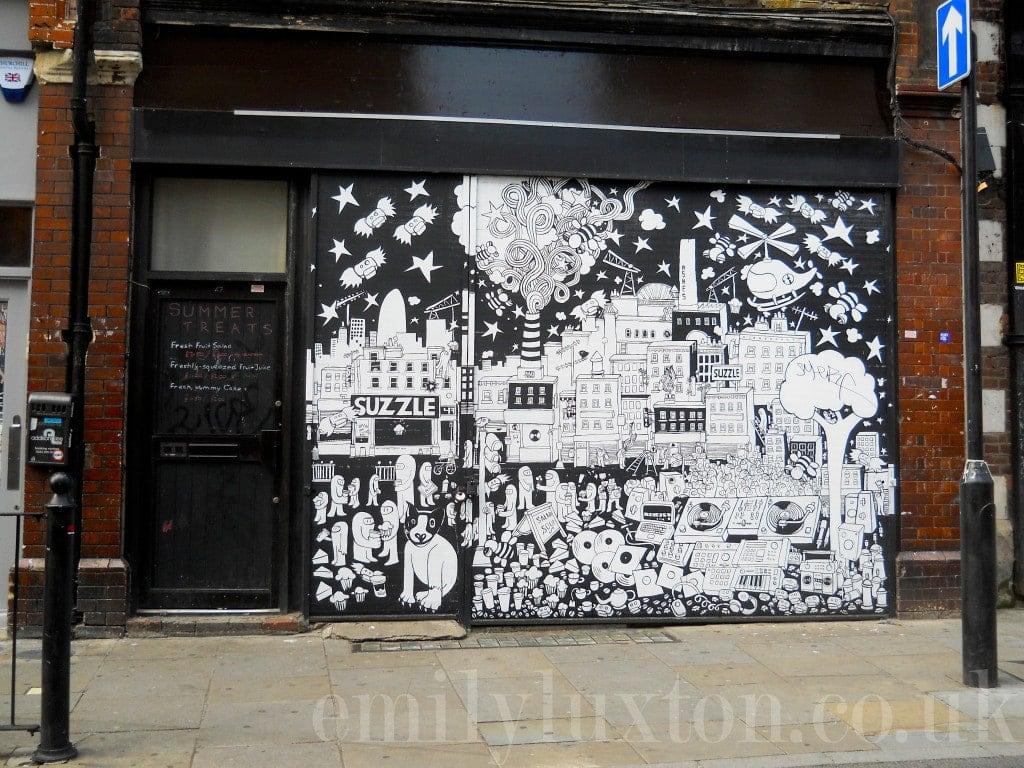 east london street art map rome - photo#21