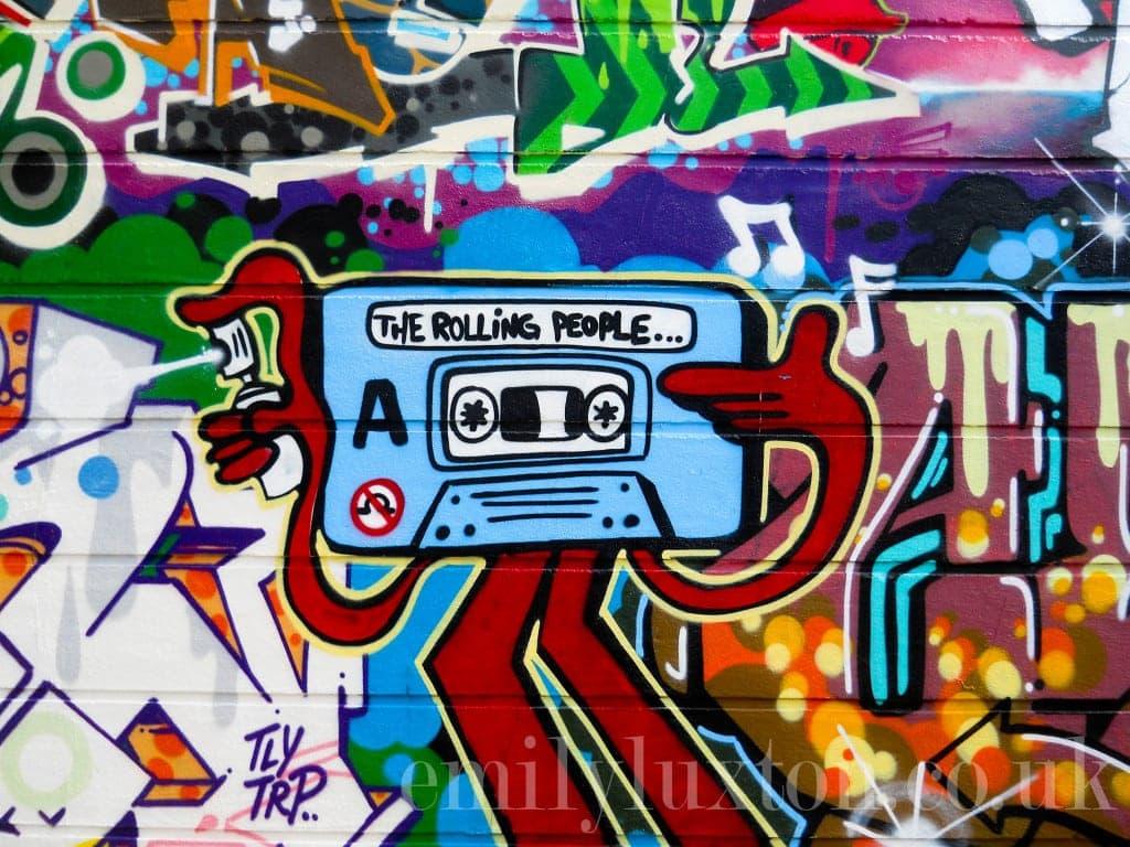 mural on Grimsby Street