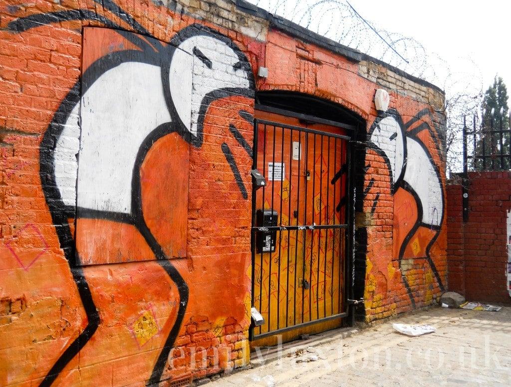 Brick Lane Street Art - Stik