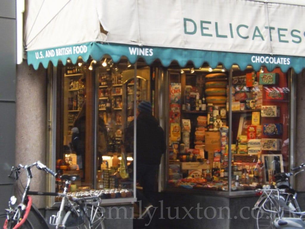 Amsterdam, British Food Shop