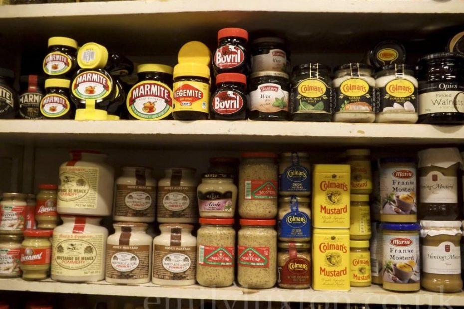 British Food Shop in Amsterdam