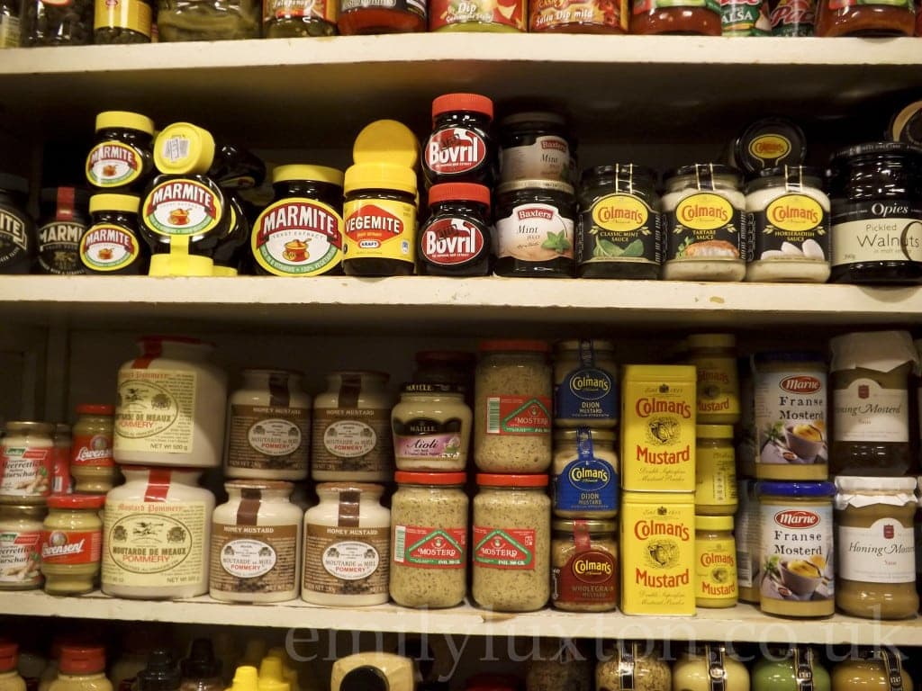 British Food Shop in Amsterdam
