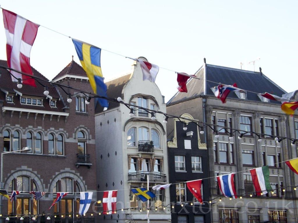 Flags, Amsterdam