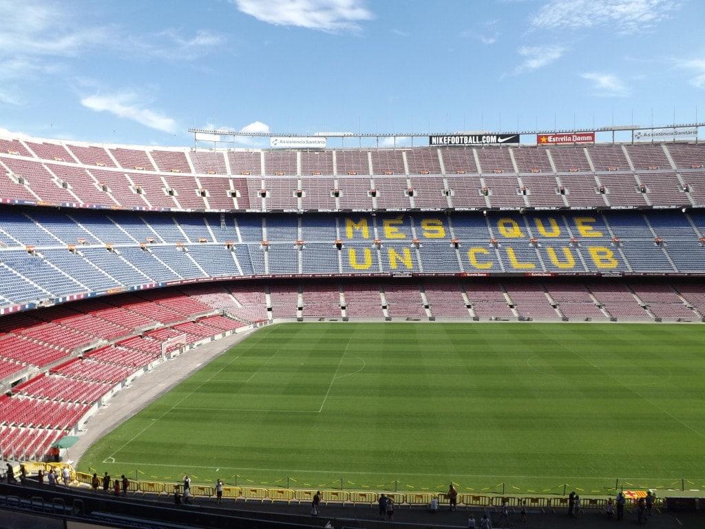 Camp Nou Football Stadium Barcelona