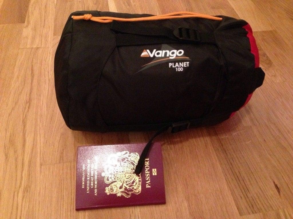 Vango - packed
