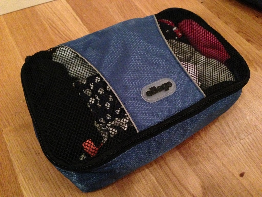 Review: eBags Packing Cubes