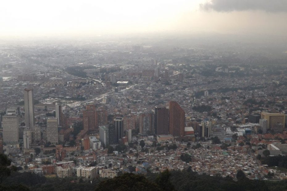 First Day in Bogota