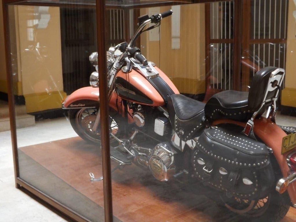 Museo de Policia, Pablo Escobar's motorbike