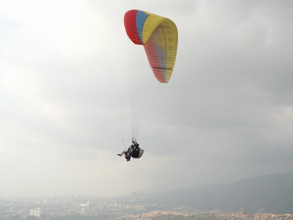Paragliding, Bucaramanga