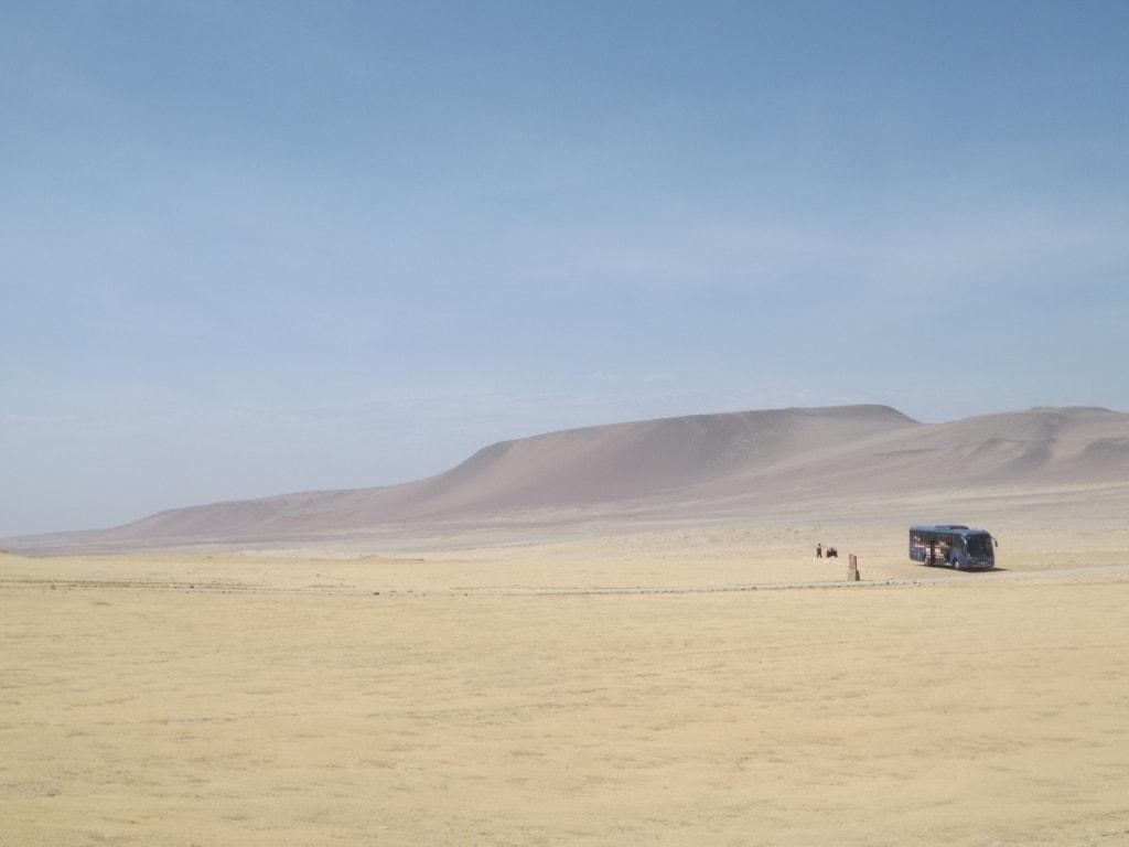Peru Hop Bus, Paracas National Reserve