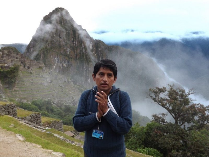 Machu Picchu, Heberth