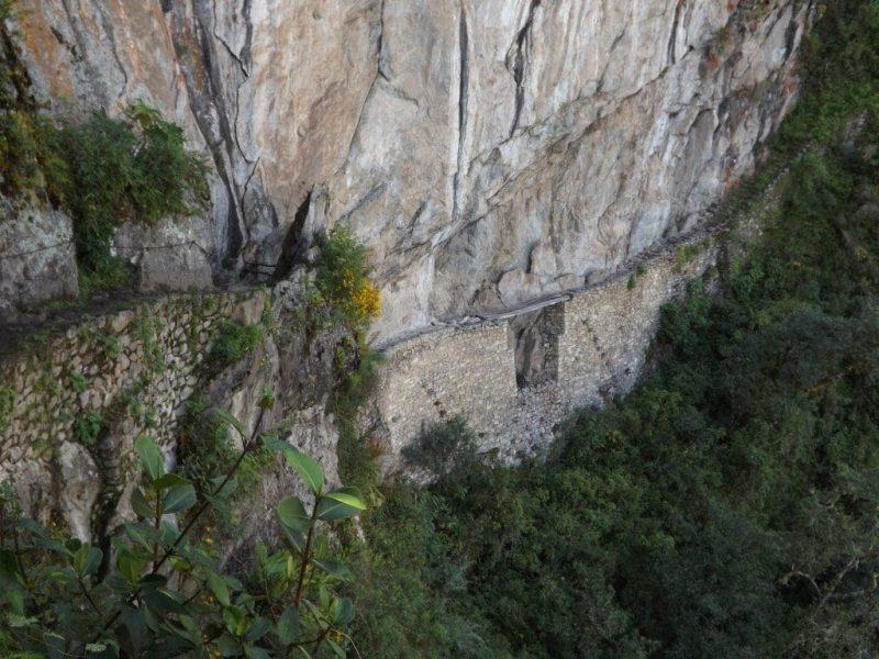 Machu Picchu, Inca Bridge