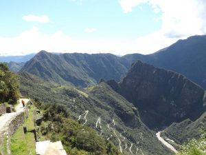Machu Picchu, view from Sun Gate