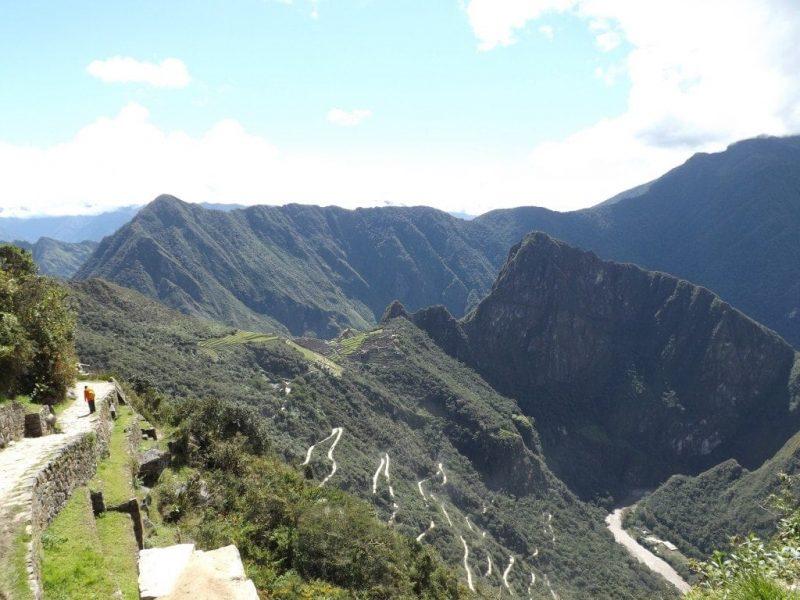 Machu Picchu, view from Sun Gate