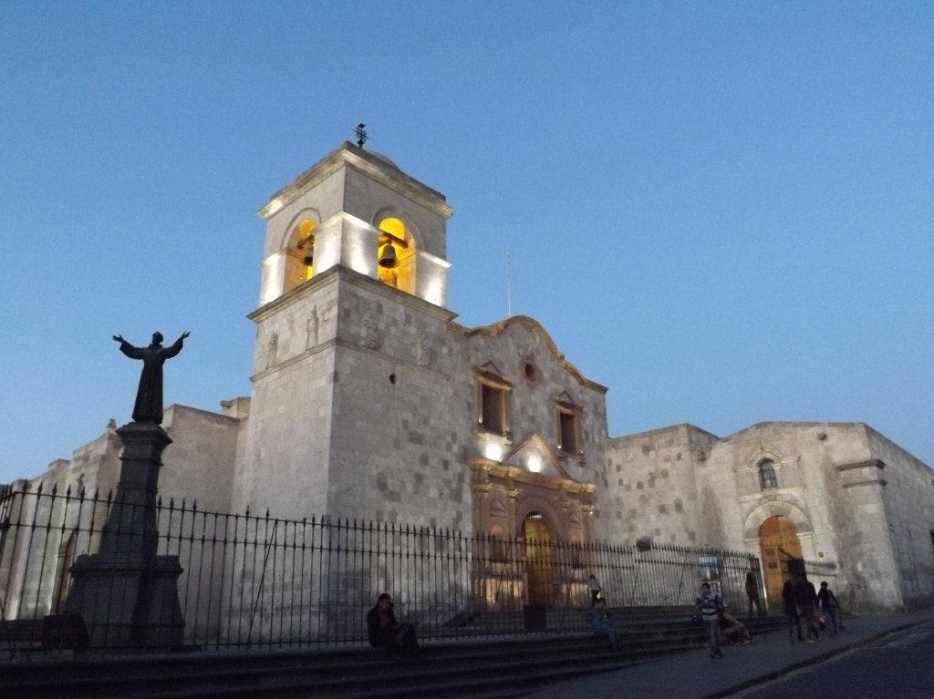 Arequipa, San Francisco Church