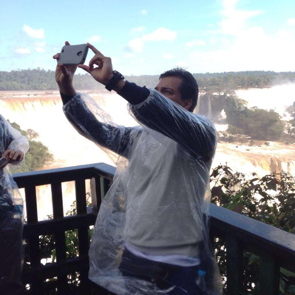 Iguassu Falls Selfie