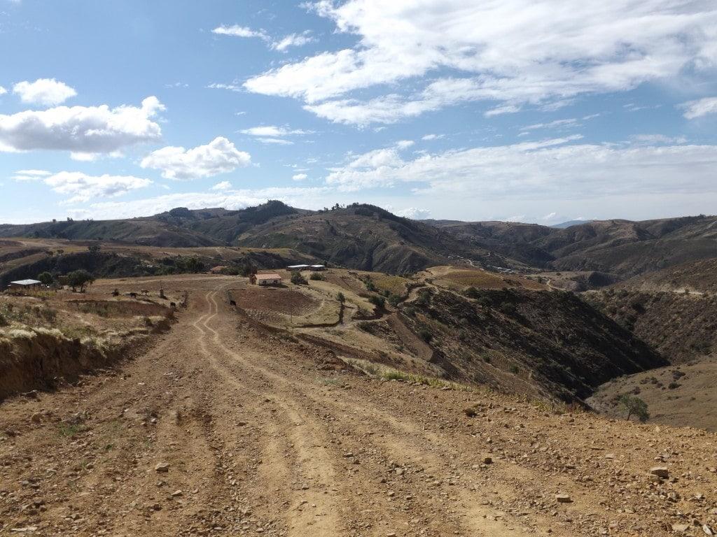 Walk to Siete Cascadas, Sucre