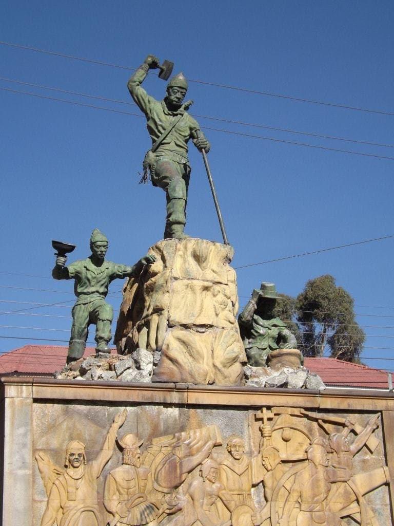 Potosi Miner Statue