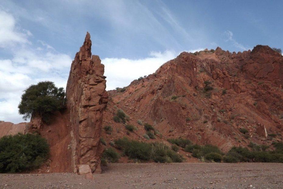 Quebrada de Palmira in Tupiza