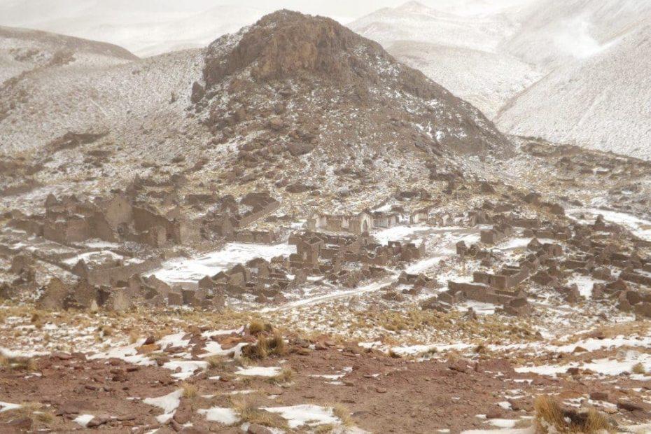 Salar de Uyuni Tour, Day One - Wind and Snow