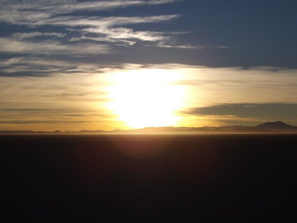 Salar Day Four, Sunrise