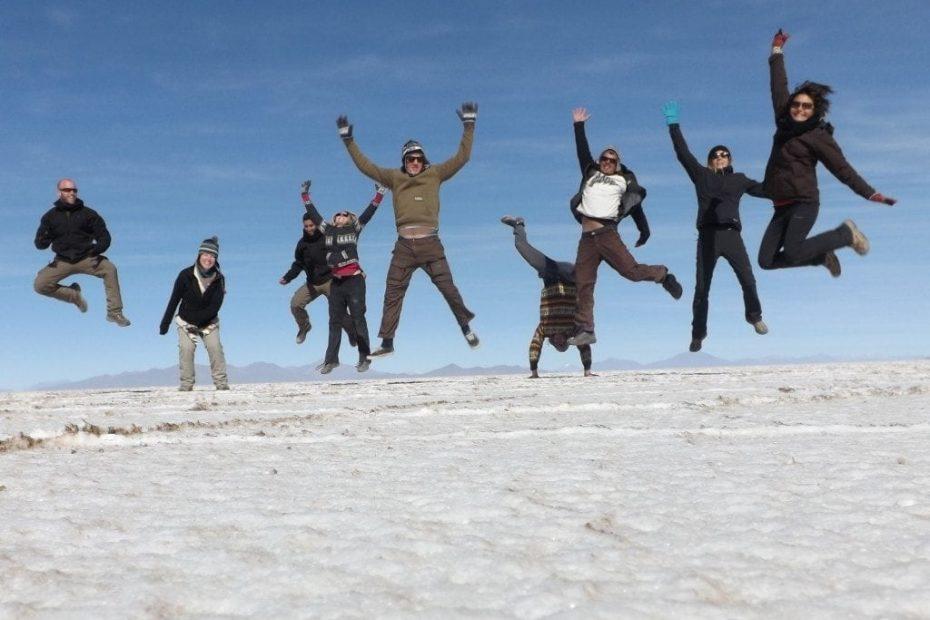 Salar de Uyuni Tour, Day Four - Sunrise and Salt Flats