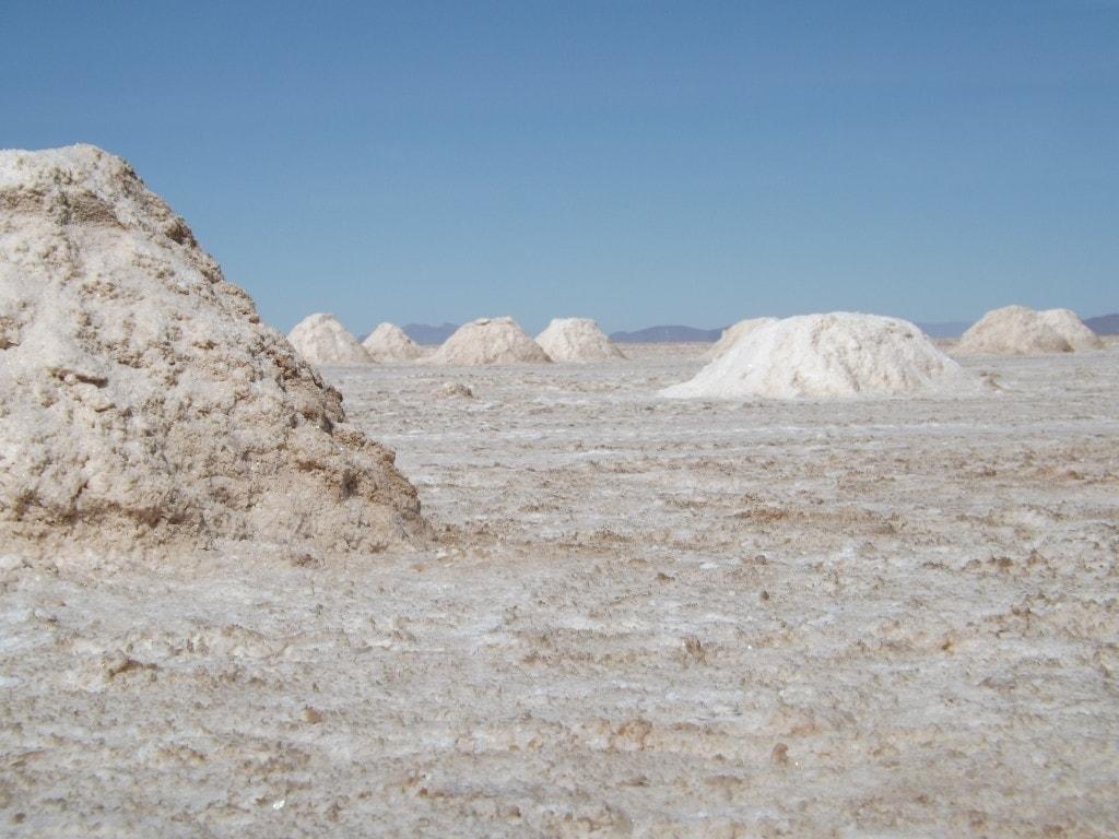 Salar Day Four, Salt Mounds