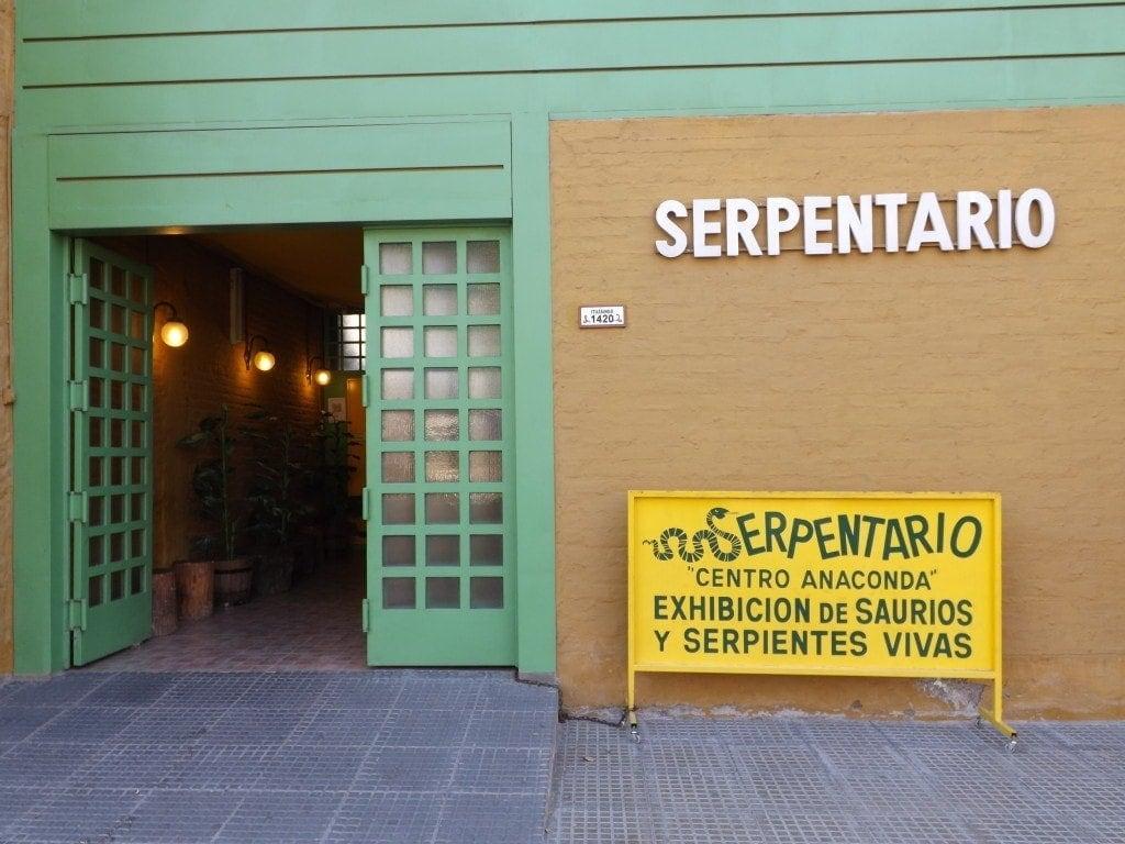 Mendoza - Serpentario