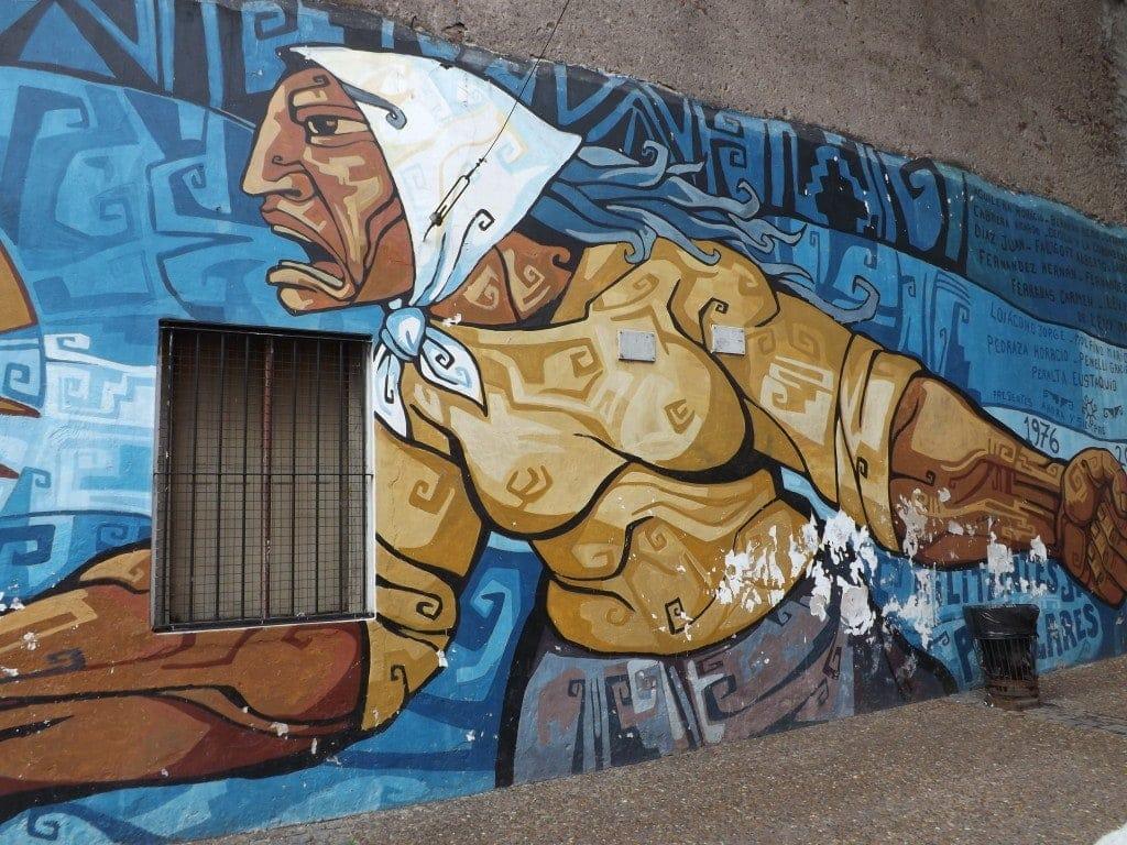 Mural, Biking Buenos Aires