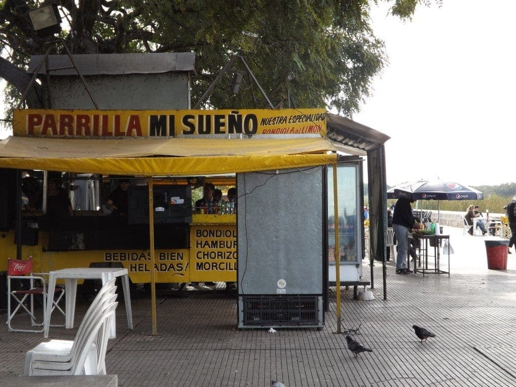 Parilla Mi Seno, Biking Buenos Aires