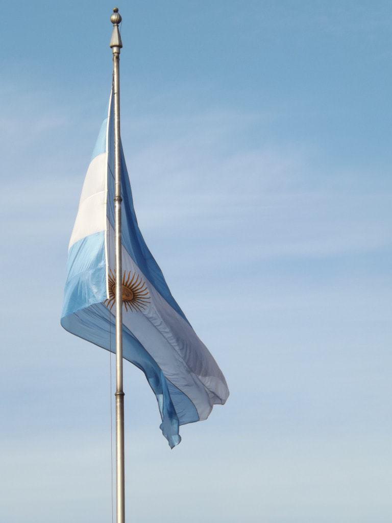 Argentina Flag, Biking Buenos Aires
