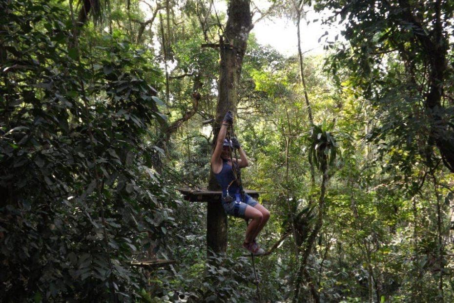 Tree Top Adventures at Paraty Sport Aventura, Brazil