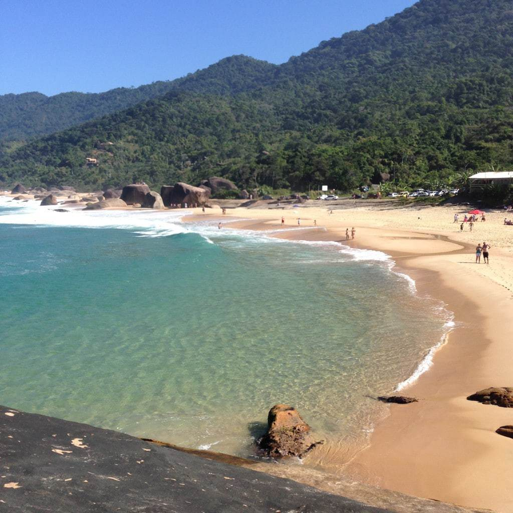 Trindade Beach near Paraty