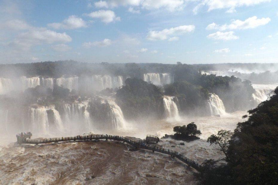 Iguassu Falls - Brazil Side