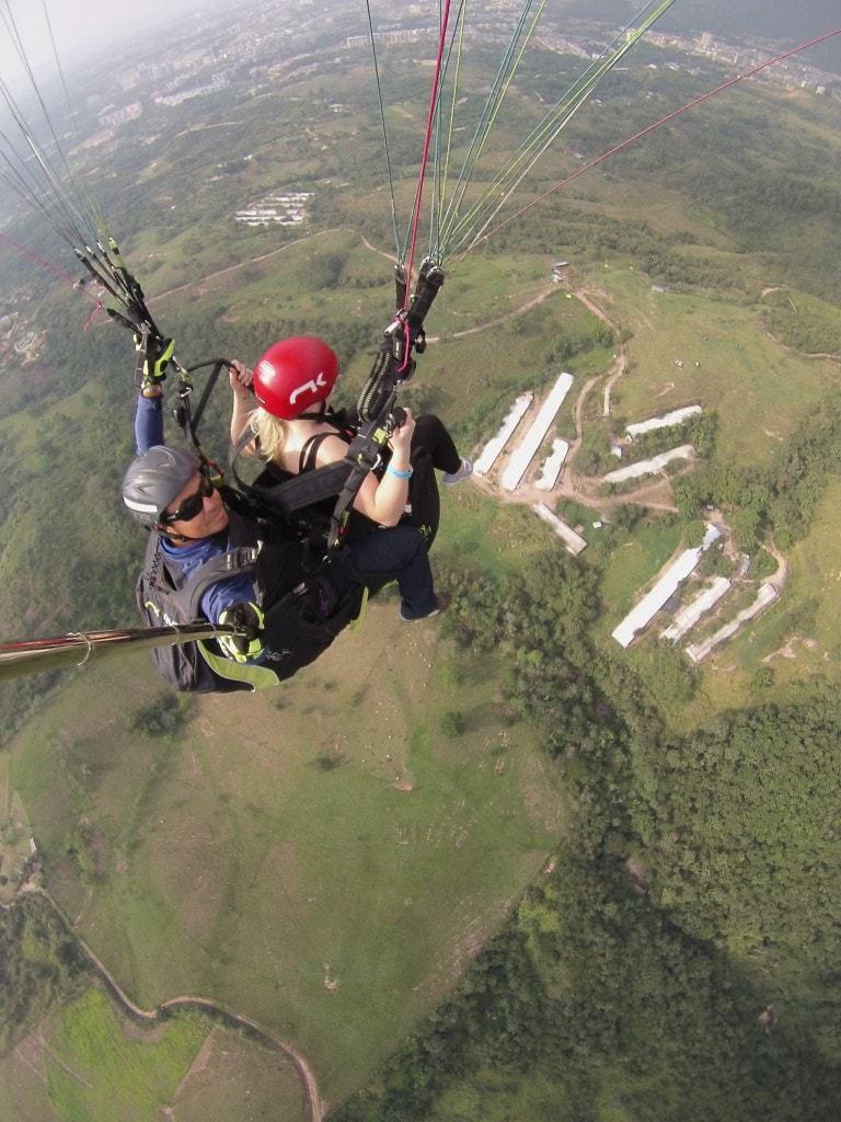 Paragliding in Bucaramanga