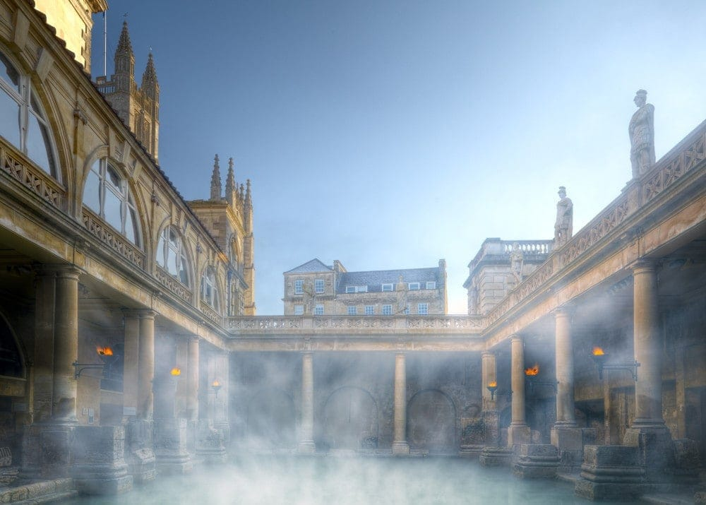 Roman Baths, Bath Credit: visitbath.co.uk Copyright: Bath Tourism Plus / Colin Hawkins
