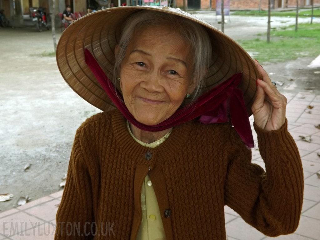 Vietnamese palm reader