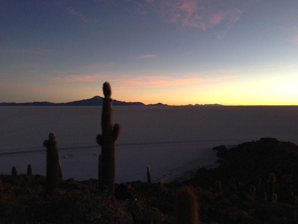 Sunrise, Salar de Uyuni, Bolivia