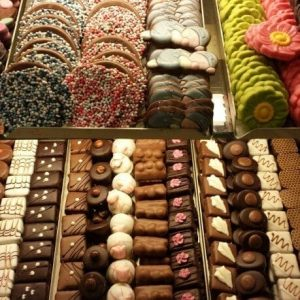 Chocolates at Theo Blom Bakery Utrecht