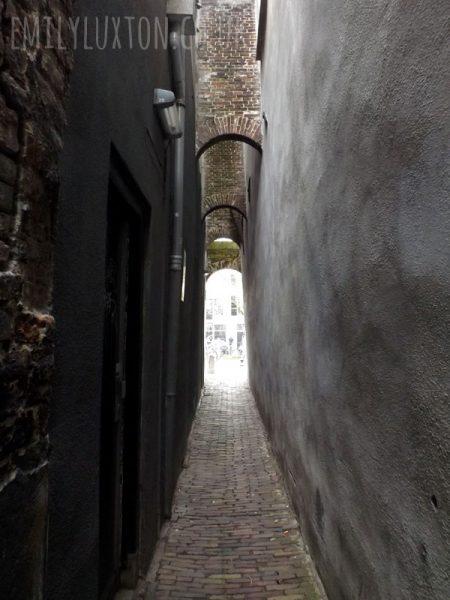 Alleyway in Utrecht