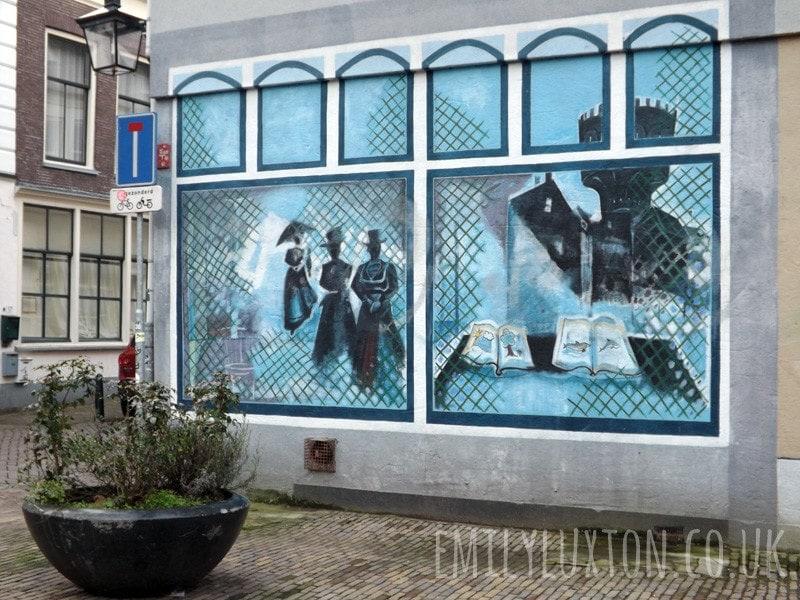 Cool street art in Utrecht