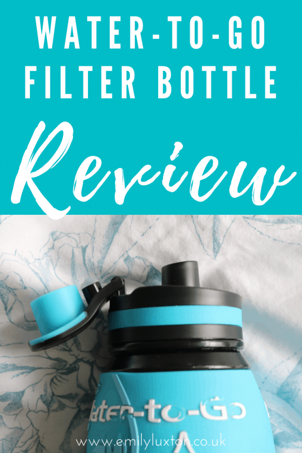 Best Water Filter Bottle for Travel - Water To Go Review