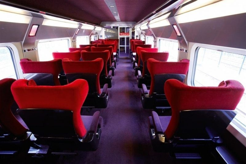 Thalys Train Interior